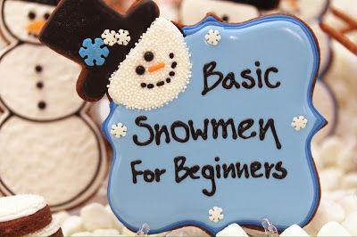 Snowman 101 -- Sweet Hope Cookies Guest Post | LilaLoa: Snowman 101 -- Sweet Hope Cookies Guest Post