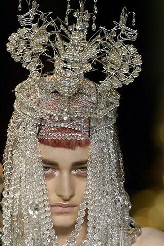 Beautiful Headpiece- seahorse's