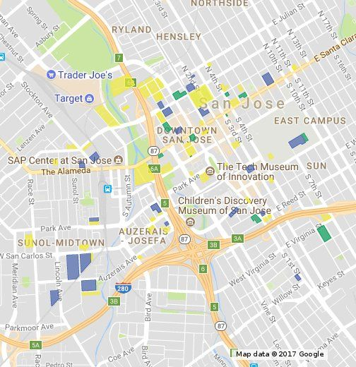 This Map Shows All The Current Development Projects In