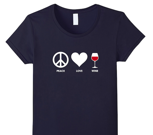 Peace Love and Wine T-shirt. The recipe for a perfect life http://tumbletee.com/pplwine