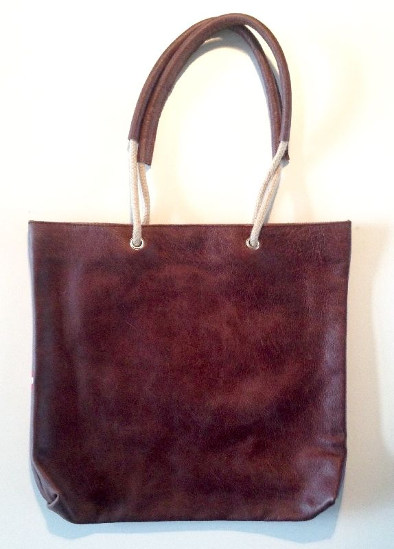 Betty S Vintage Brown Handmade leather bag