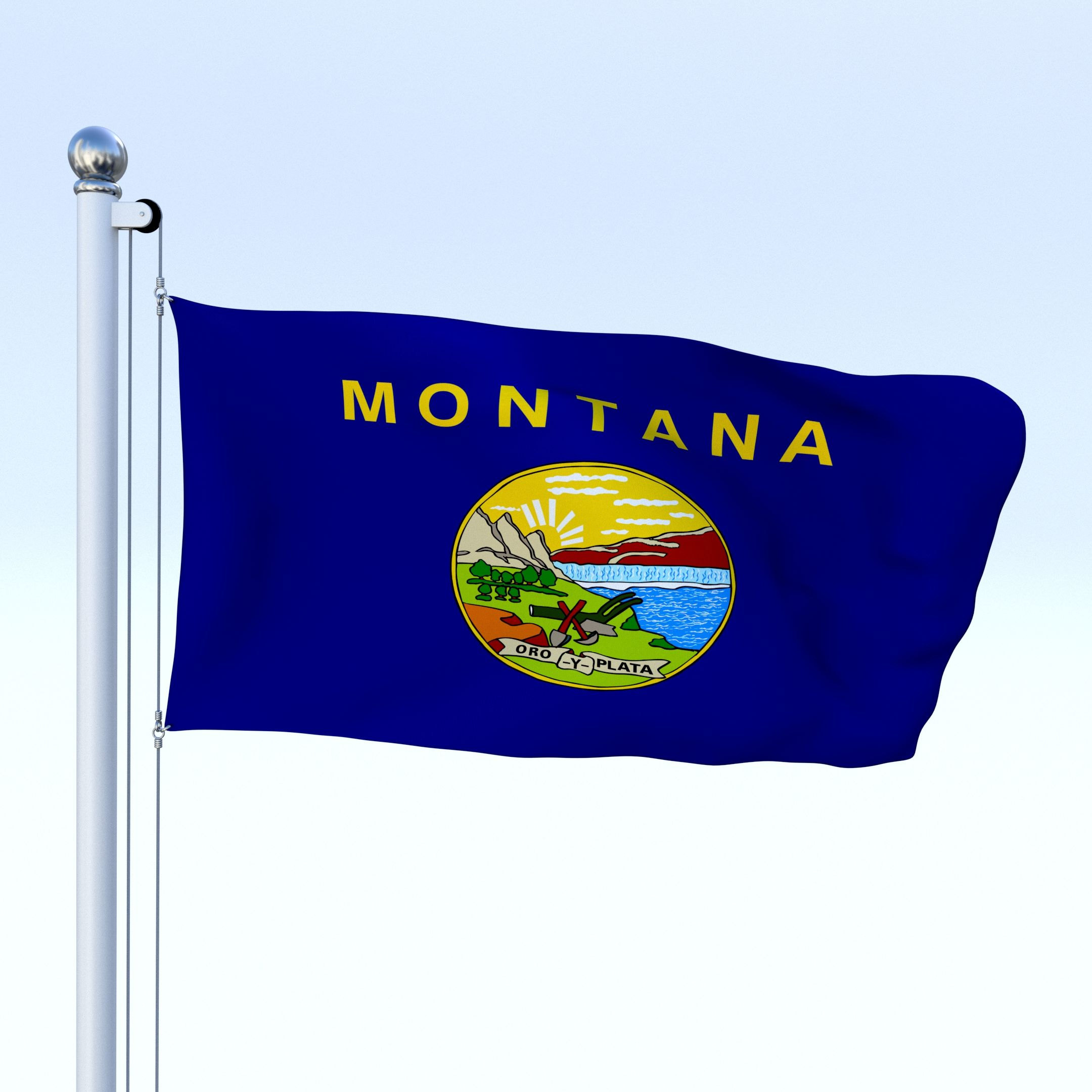 Animated Montana Flag Animated Montana Flag Flag Animation Montana