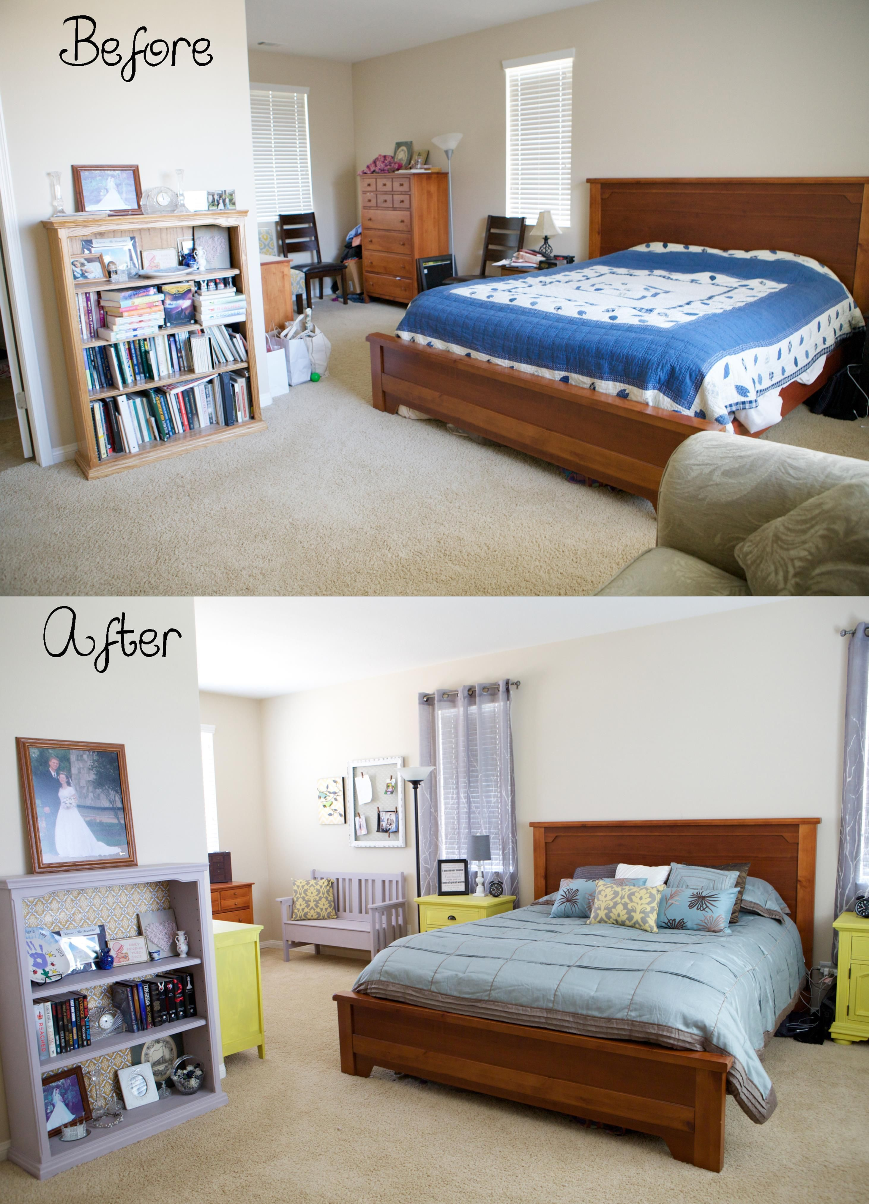 20 Diy Small Bedroom Makeover On A Budget With Images Bedroom