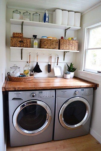Tiny Laundry Room Inspiration Tiny Laundry Rooms Laundry