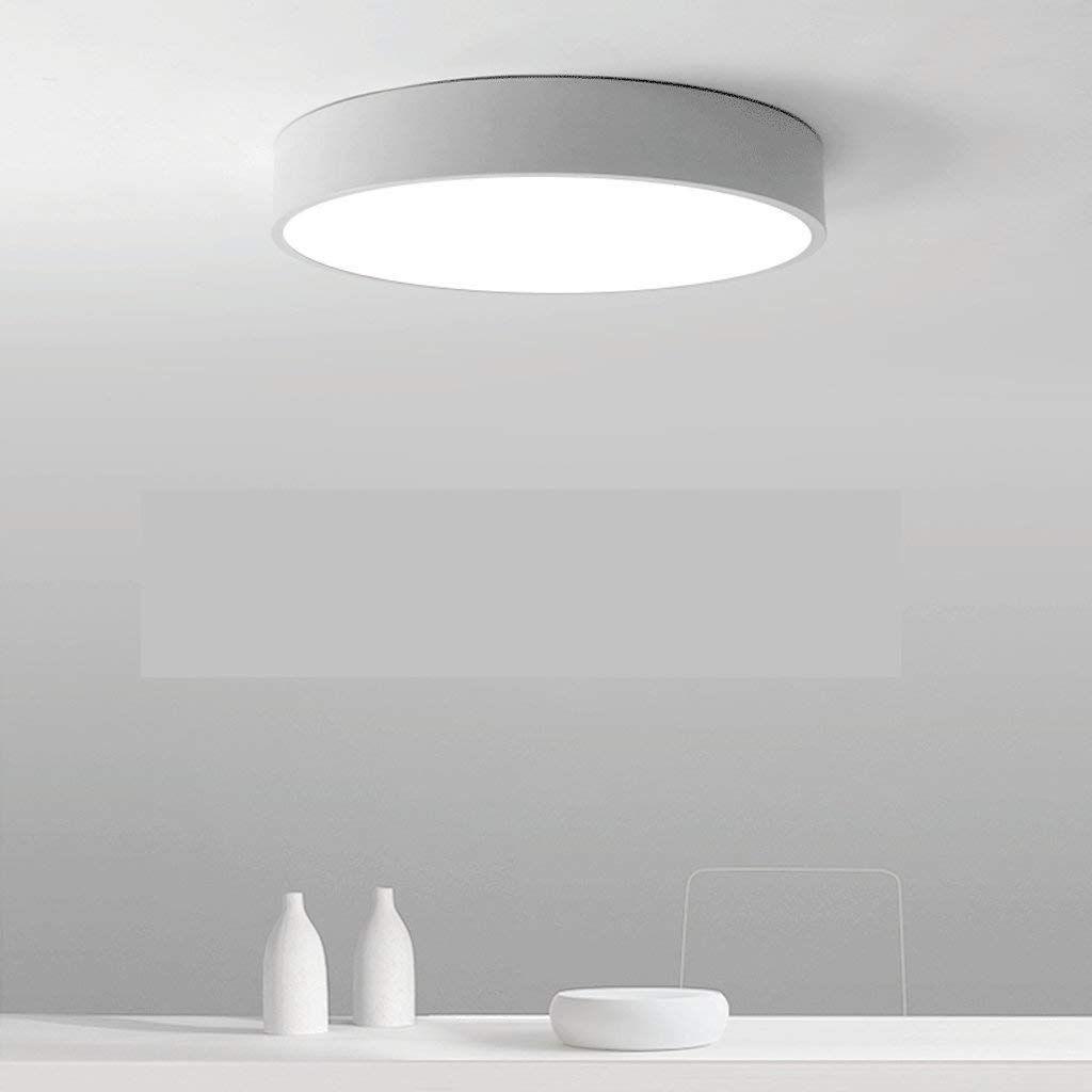 Moderne minimalistische LEDDeckenleuchten runden das