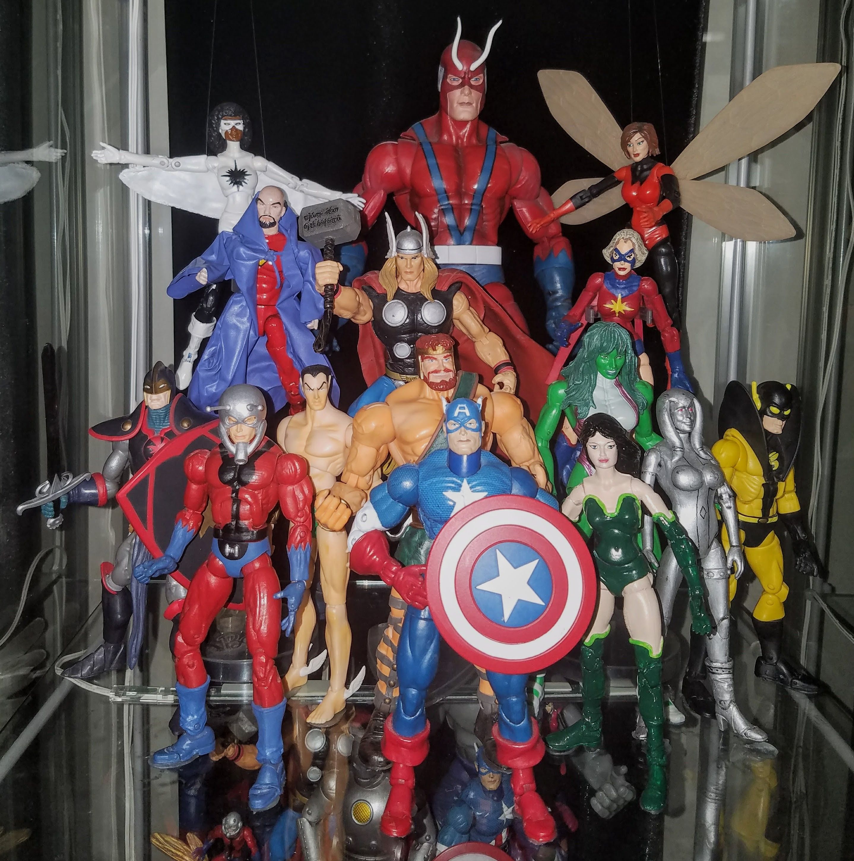 Avengers 1970s prodigeeks action figure collection