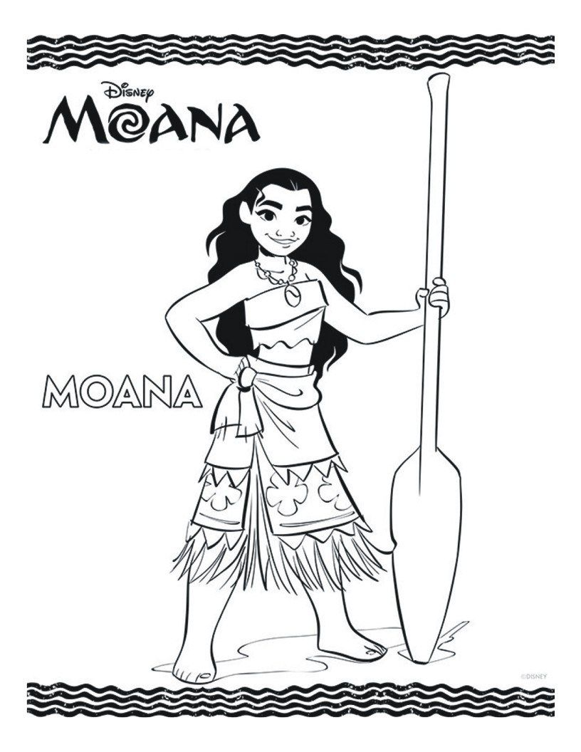 Moana - Paginas Para Imprimir y Colorear | Colorear y Sol