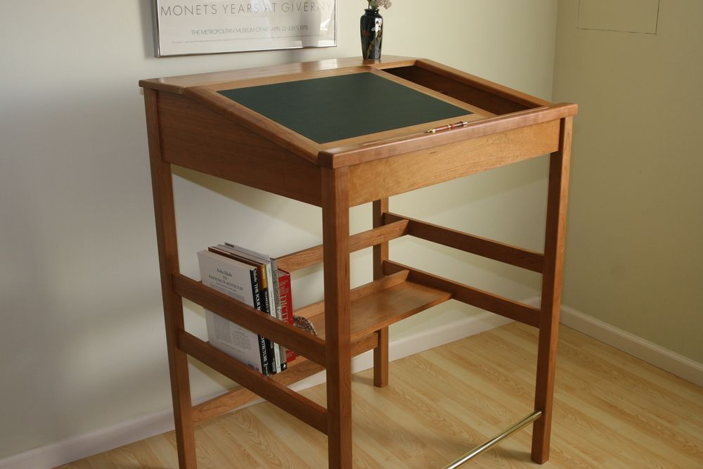 stand up reading desk | Just a note to say I love my new desk, which is beautifully crafted ...