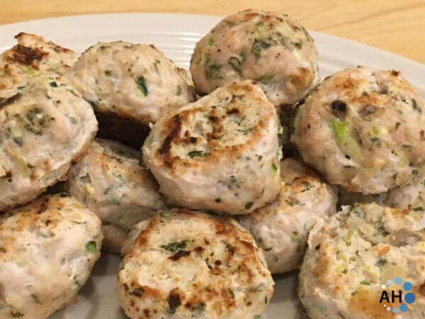 Turkey Meatballs and Vegetables #idealproteinrecipesphase1dinner Turkey & Vegetable Meatballs - LCLF recipe, approved for the Ideal Protein phase 1.  Located in Andover, MA #idealproteinrecipe #idealproteinrecipesphase1dinner