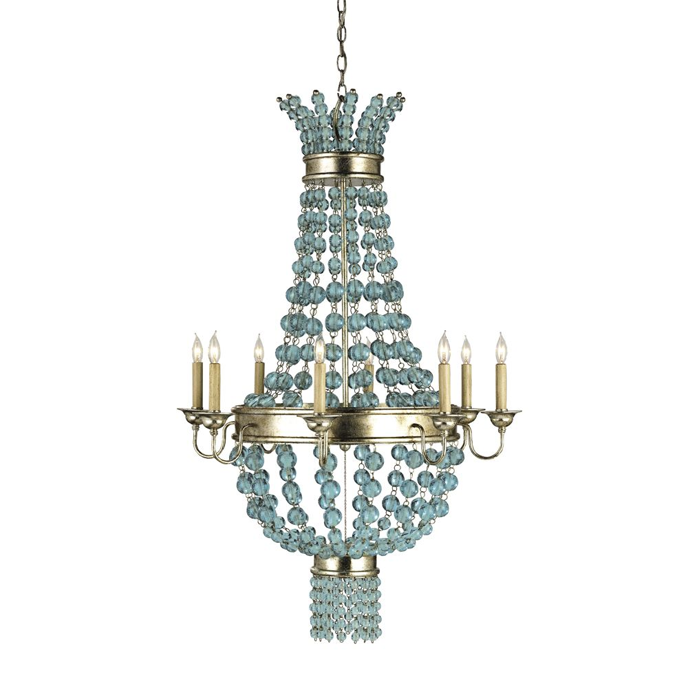 Currey & Co 9166 Serena Silver Granello 8 Light Chandelier On Sale Now. Guaranteed Low Prices. Call Today (877)-237-9098.