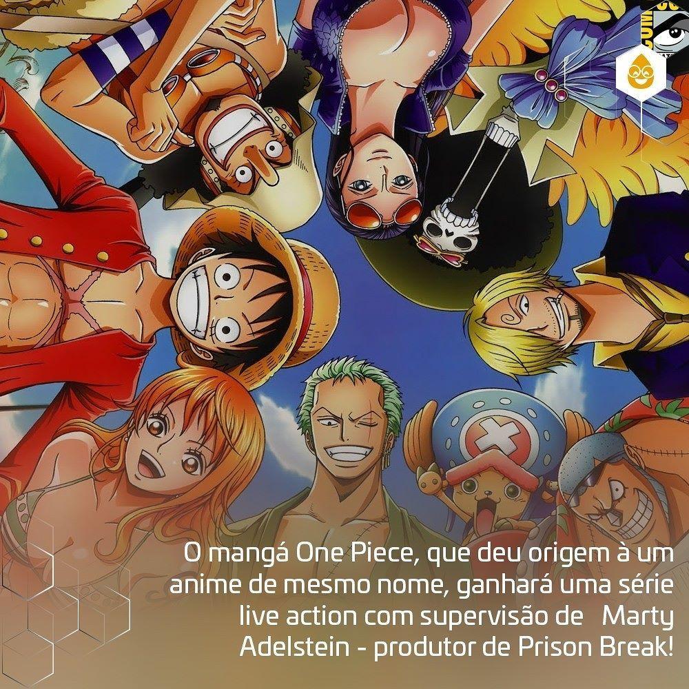 Coxinhanasdcc O Manga One Piece Que Deu Origem A Um Anime De Mesmo