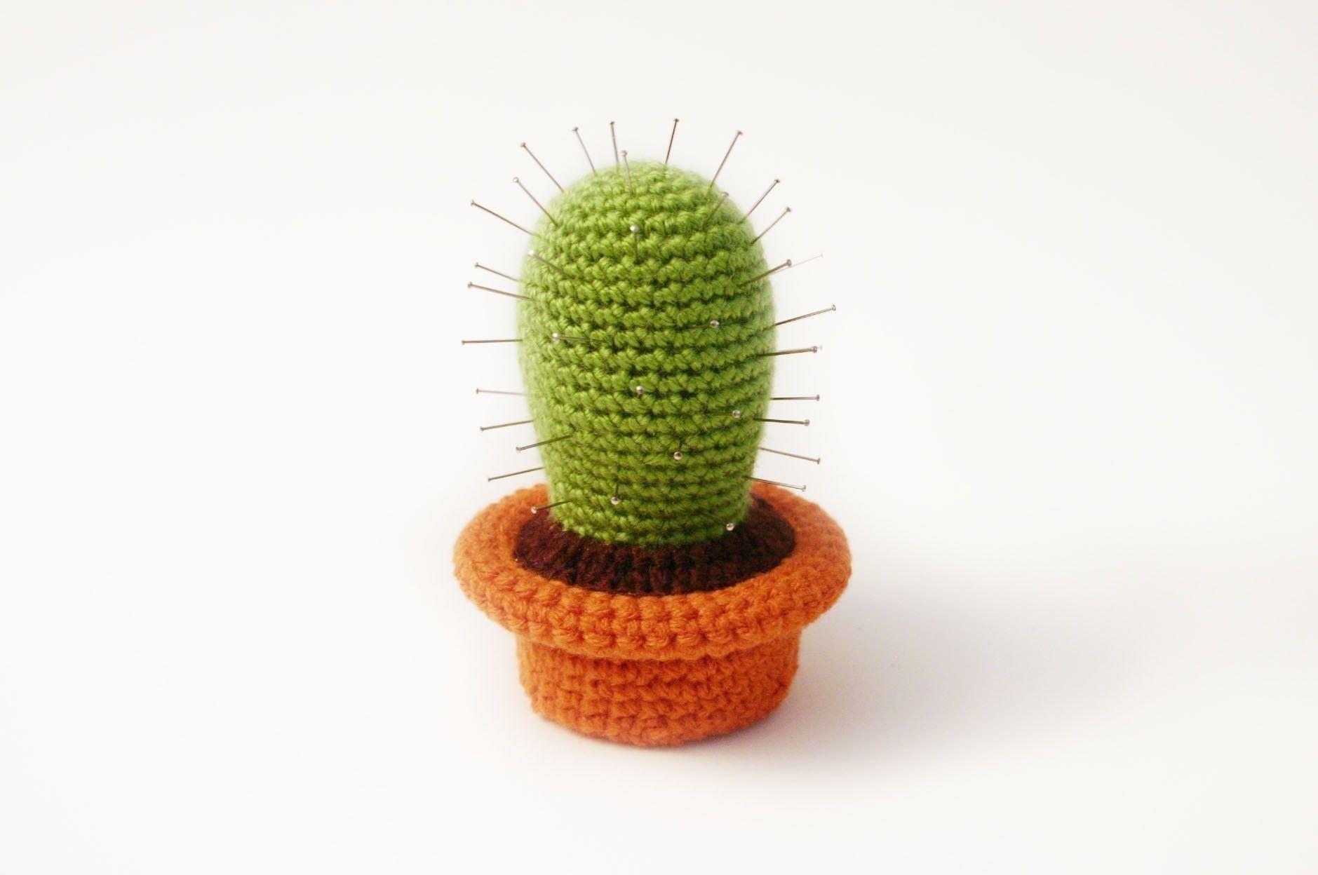 Amigurumi Cactus Crochet Pattern : Amigurumi crochet cactus cacti and amigurumi