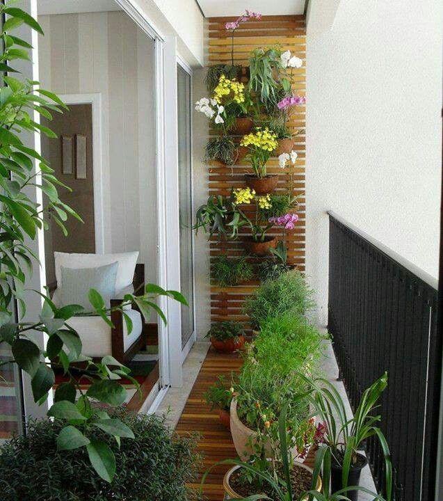 Pin De Ivy Gonzalez Quintana En Manualidades Decoracion De Terrazas Pequeñas Jardines Verticales Decorar Balcon