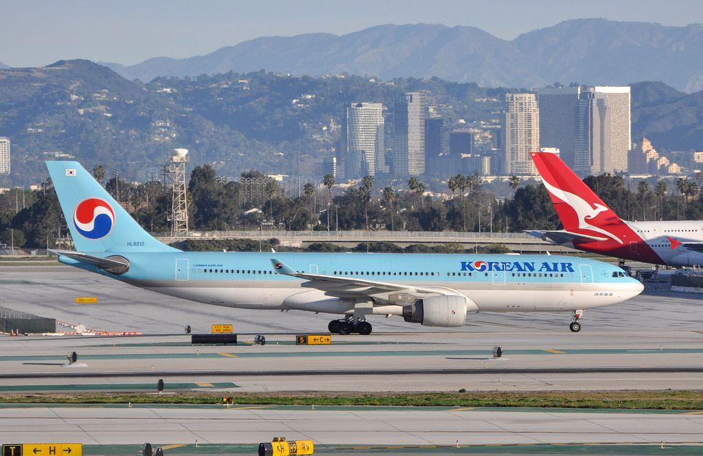 Korean Air A330223 at LAX_20130216 Korean air, Korean