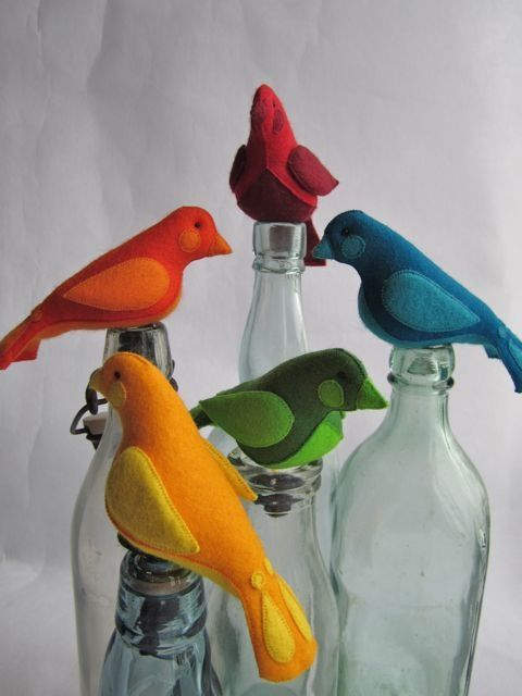Free Felt Animal Patterns | Katy McRae Fablous Felt Birds                                                                                                                                                                                 Mais