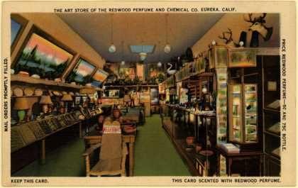 Redwood Perfume & Chemical Co.'s Redwood Perfume – The Art Store of the Redwood Perfume and Chemical Co.