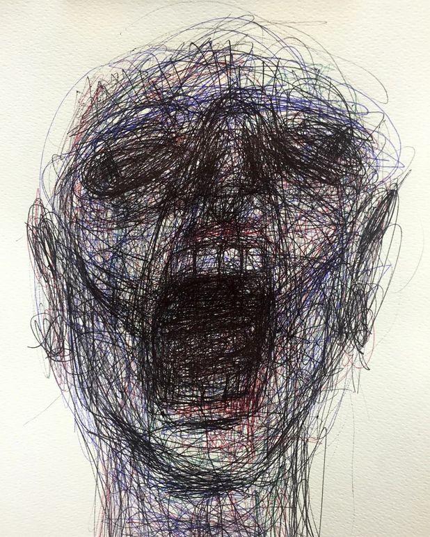 Mental Health Gcse Art Drawings