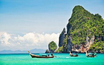 Blick auf das türkisblaue #Meer #Phuket