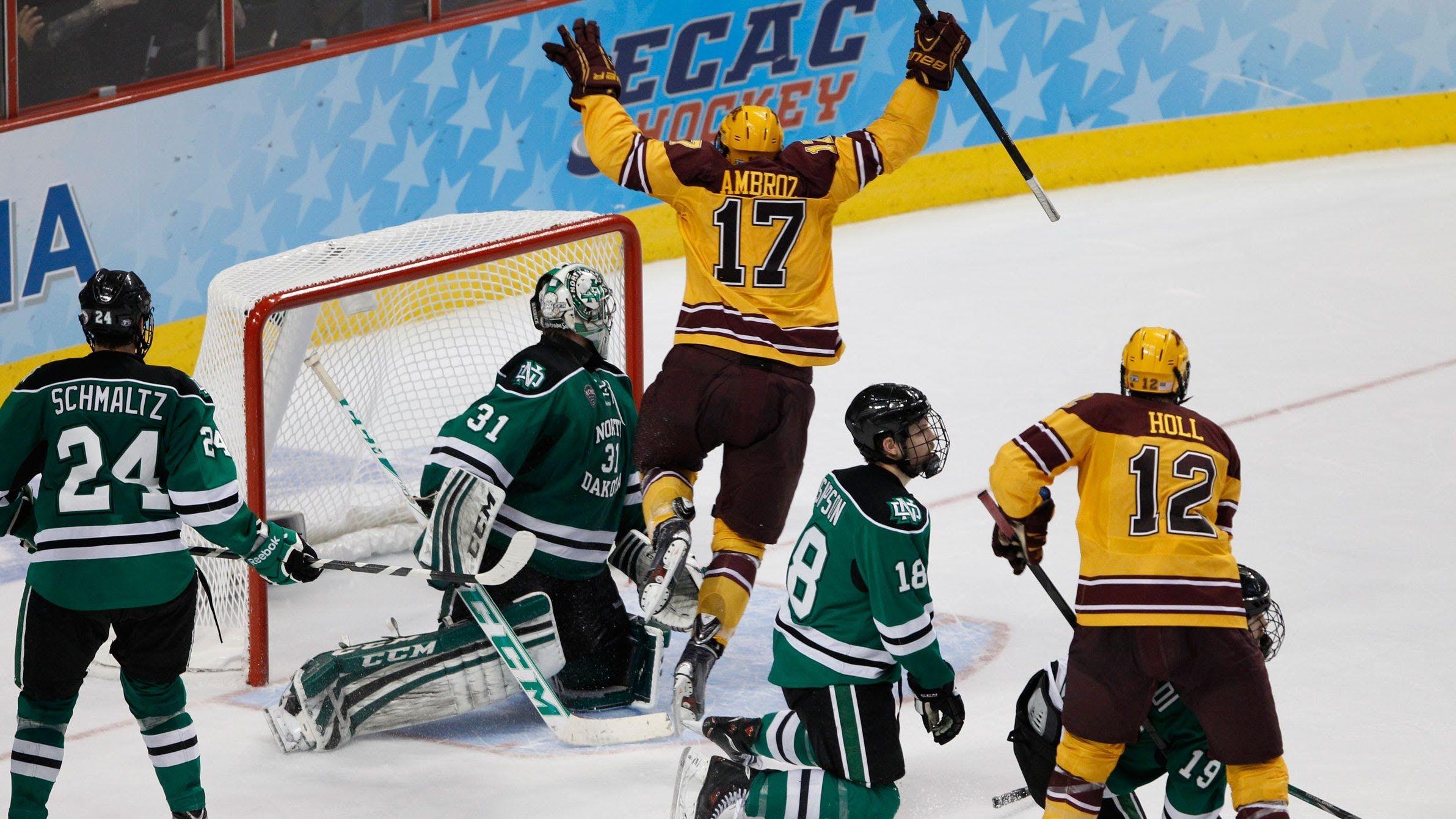 2013 14 Golden Gopher Hockey Pride On Ice Frozen Four Frozen Four Hockey Gopher