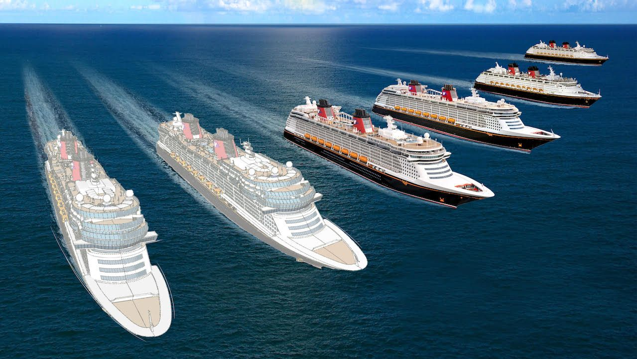 Disney Cruise Line Will Be Expanding It S Fleet With The Addition Of Two New Ships Chip And Company Disney Cruise Line Disney Cruise Disney Cruise Ships