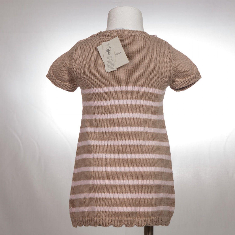 Vestido Pili Carrera lana listas