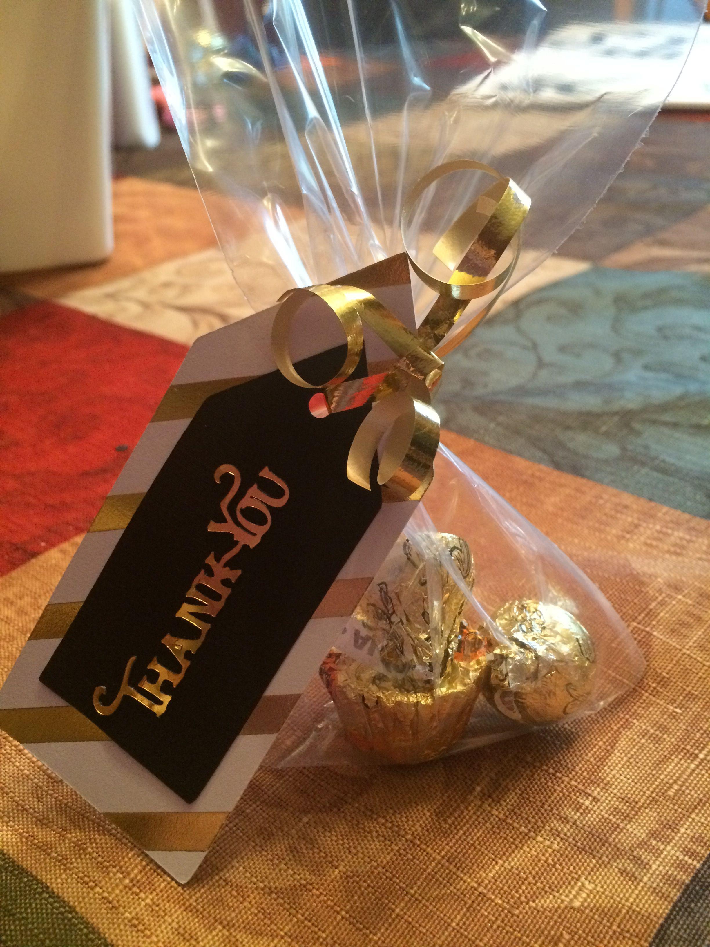 Gift Bags Thank You Graduation Graduation Ideas Pinterest