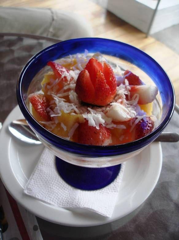 Central America Desserts: Fresas con Crema (Strawberries and Cream)