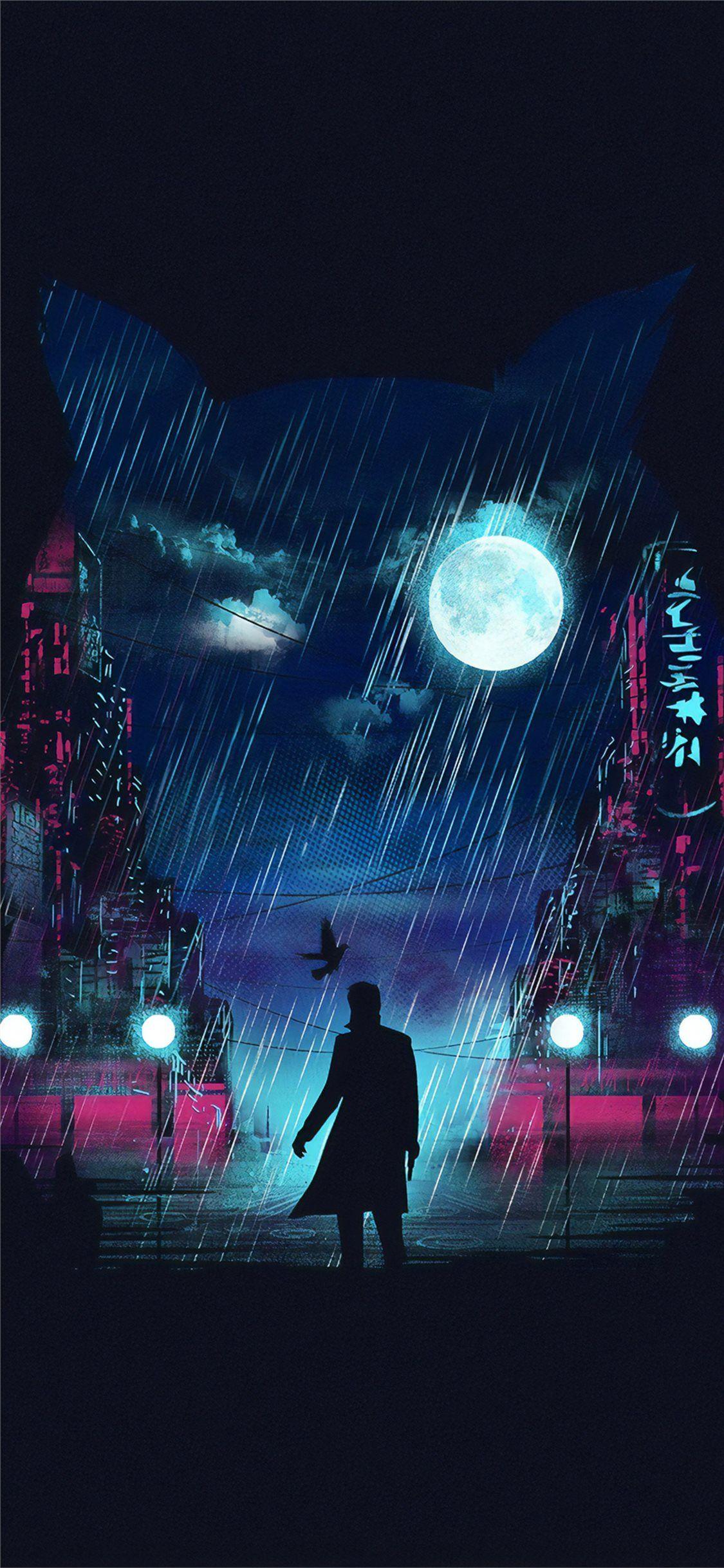 Free Download The Blade Runner Digital Art 4k Wallpaper Beaty Your Iphone Blade Runner 2049 Digital Ar In 2020 Iphone Background Art Blade Runner Iphone Wallpaper