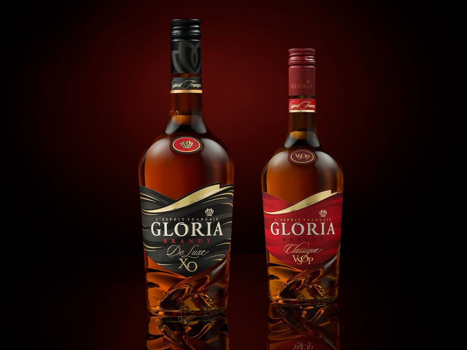 Gloria Brandy On Packaging Of The World Creative Package Design Gallery Whiskey Packaging Brandy Bottle Wine Advertising