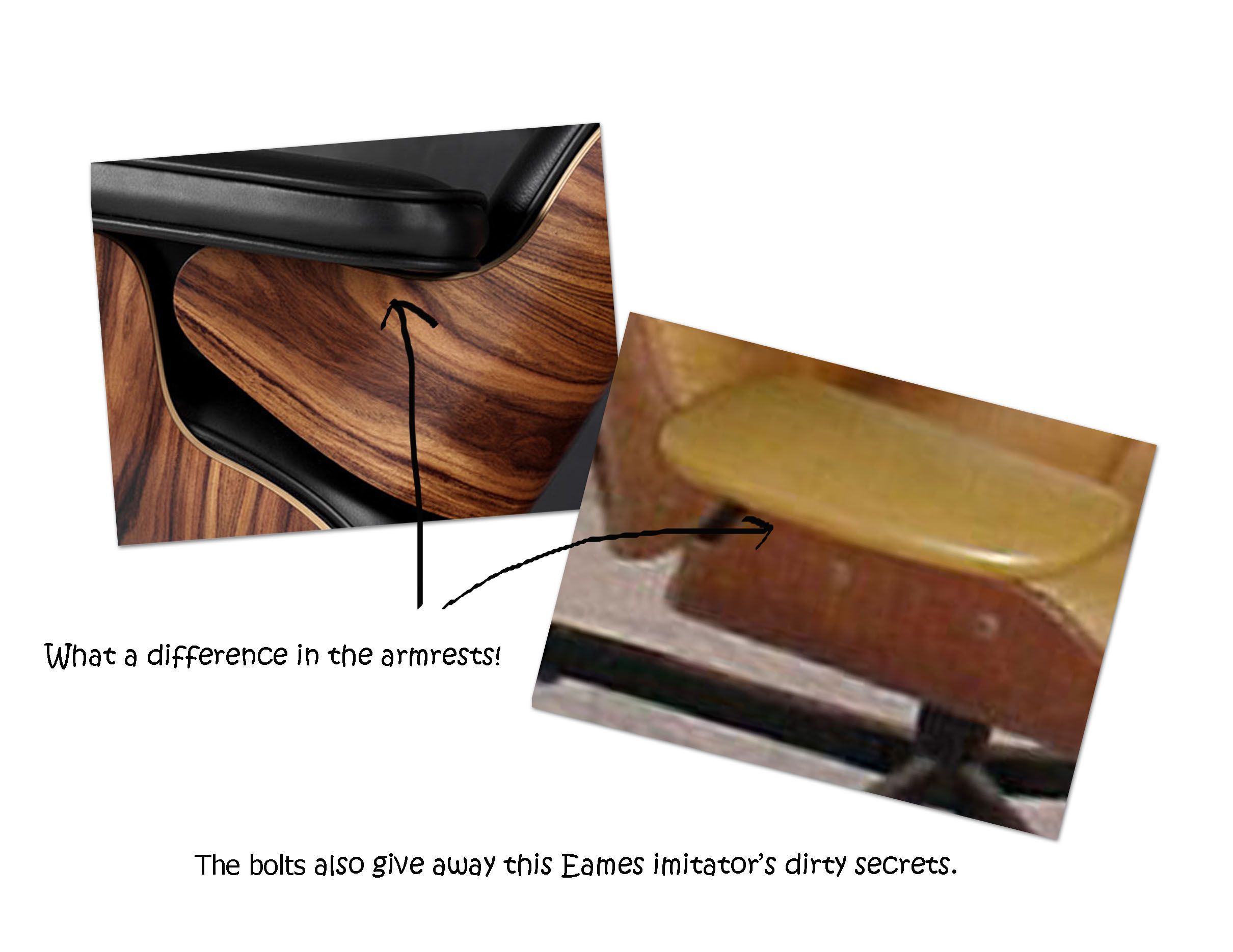 Original Eames Lounge Chair eames lounger armest more eames lounge chair signs of authenticity