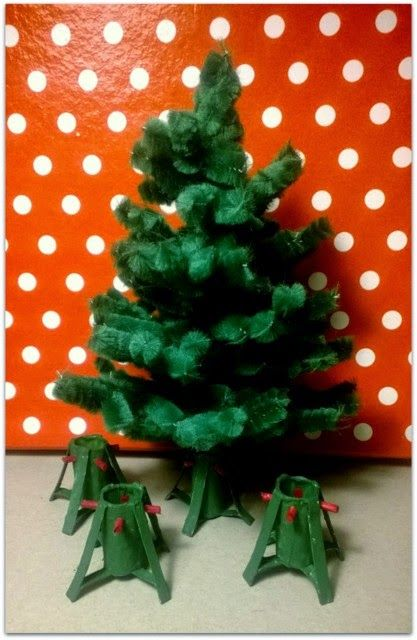 Miniature Dollhouse Christmas Tree Stand Brilliant Idea Blog In