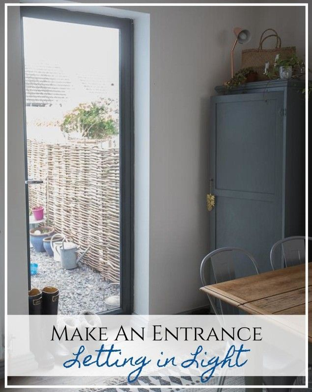 Making an entrance - letting light in with a new back door