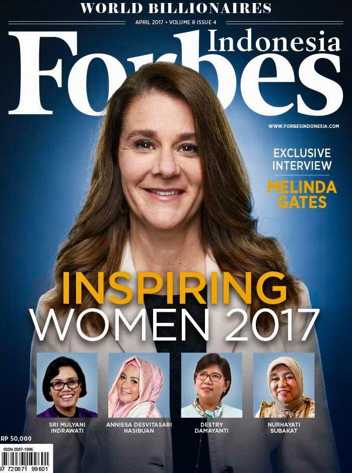 Melinda Gates Forbes, Indonesia, Inspirational women