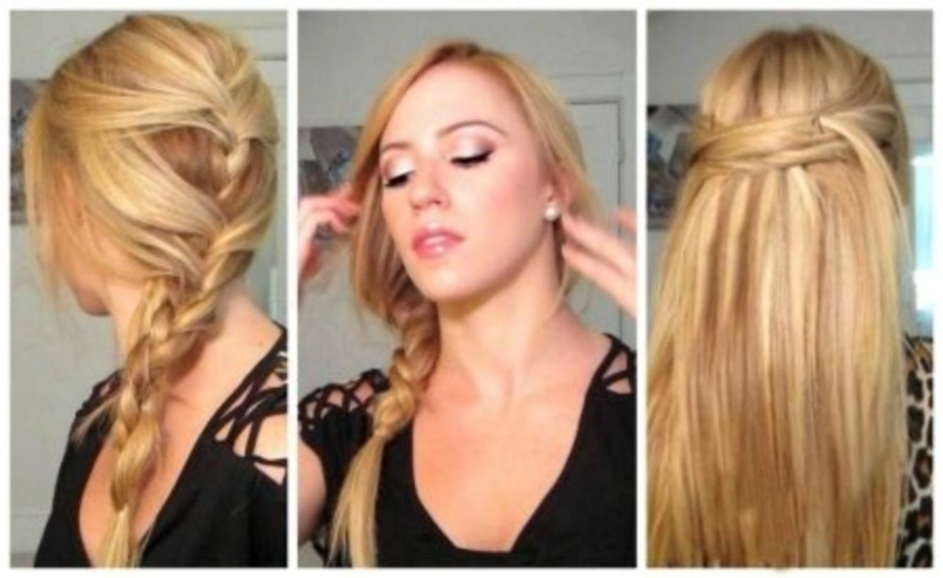 quick and simple hairstyle for straight hair hairstyles