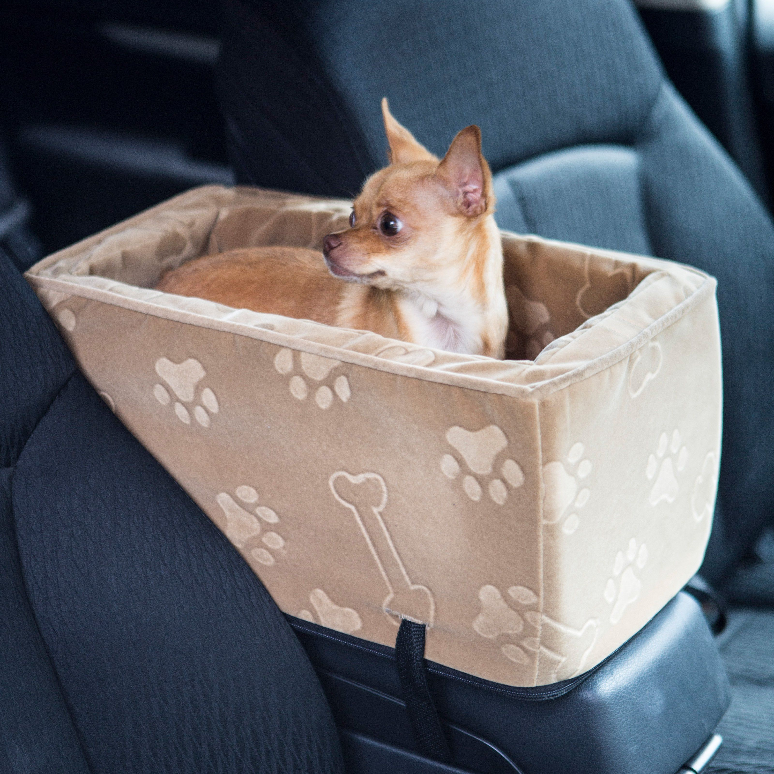snoozer luxury console pet car booster seat small the snoozer luxury console pet car booster. Black Bedroom Furniture Sets. Home Design Ideas