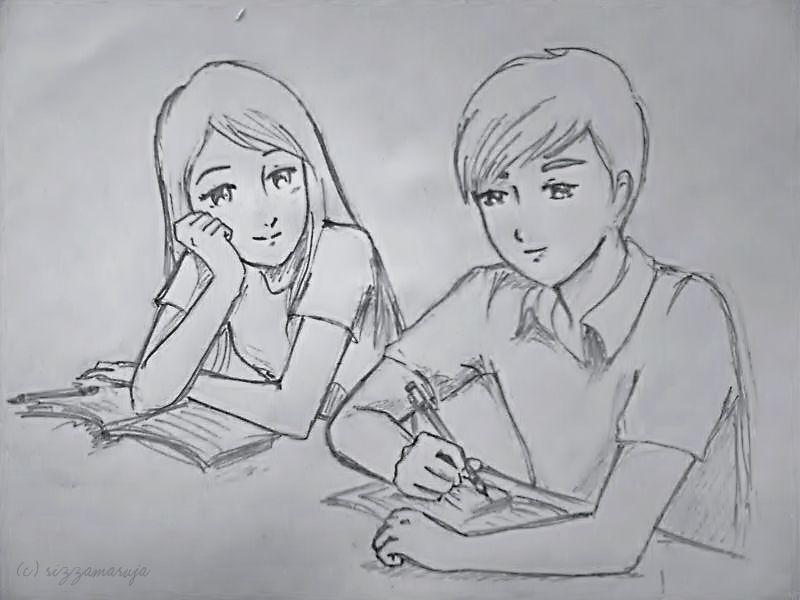 12 model best cute love sketches