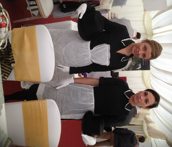 Downton Abbey Weddings Serving Staff In Edwardian Aprons