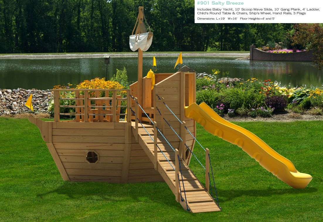 Play Sets Outdoor Home Outdoor Wooden Playsets Pirate Ship