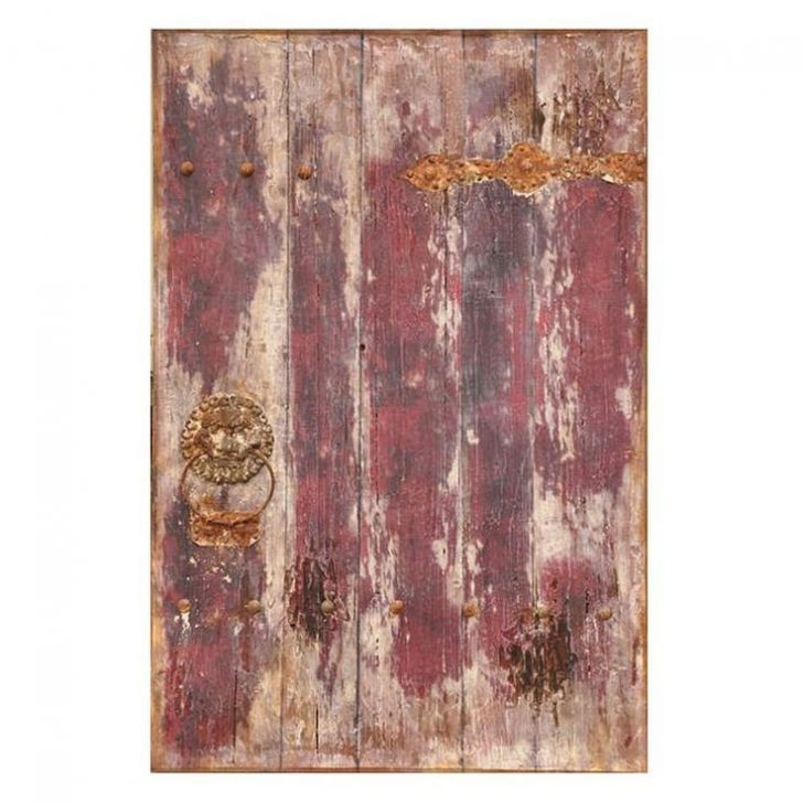 Old Door Wall Art #rustic