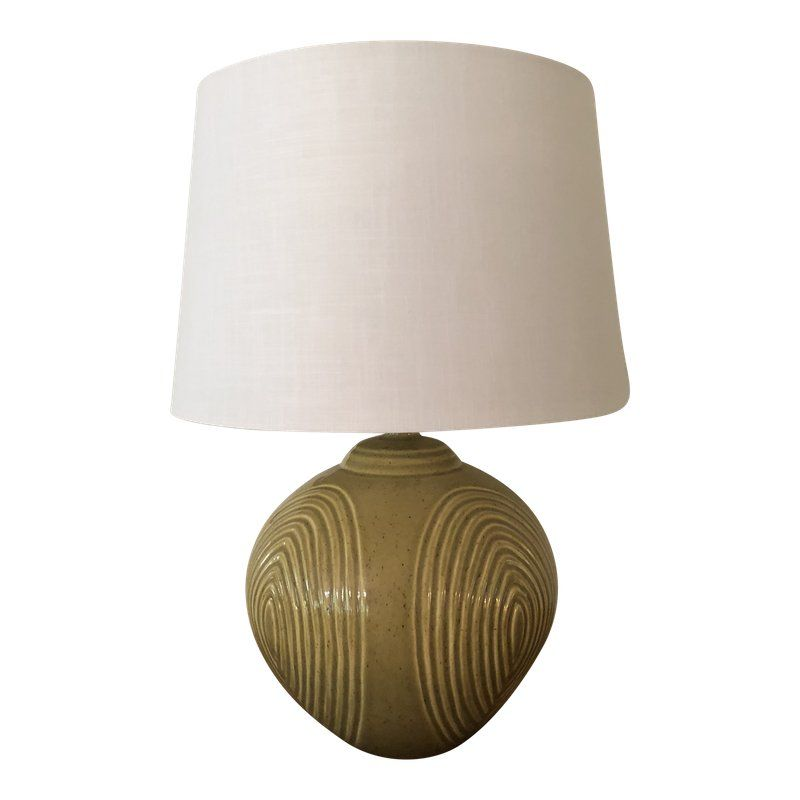 Haeger Pottery Mid Century Ceramic Lamp With Shade Ceramic Lamp Mid Century Ceramics Lamp