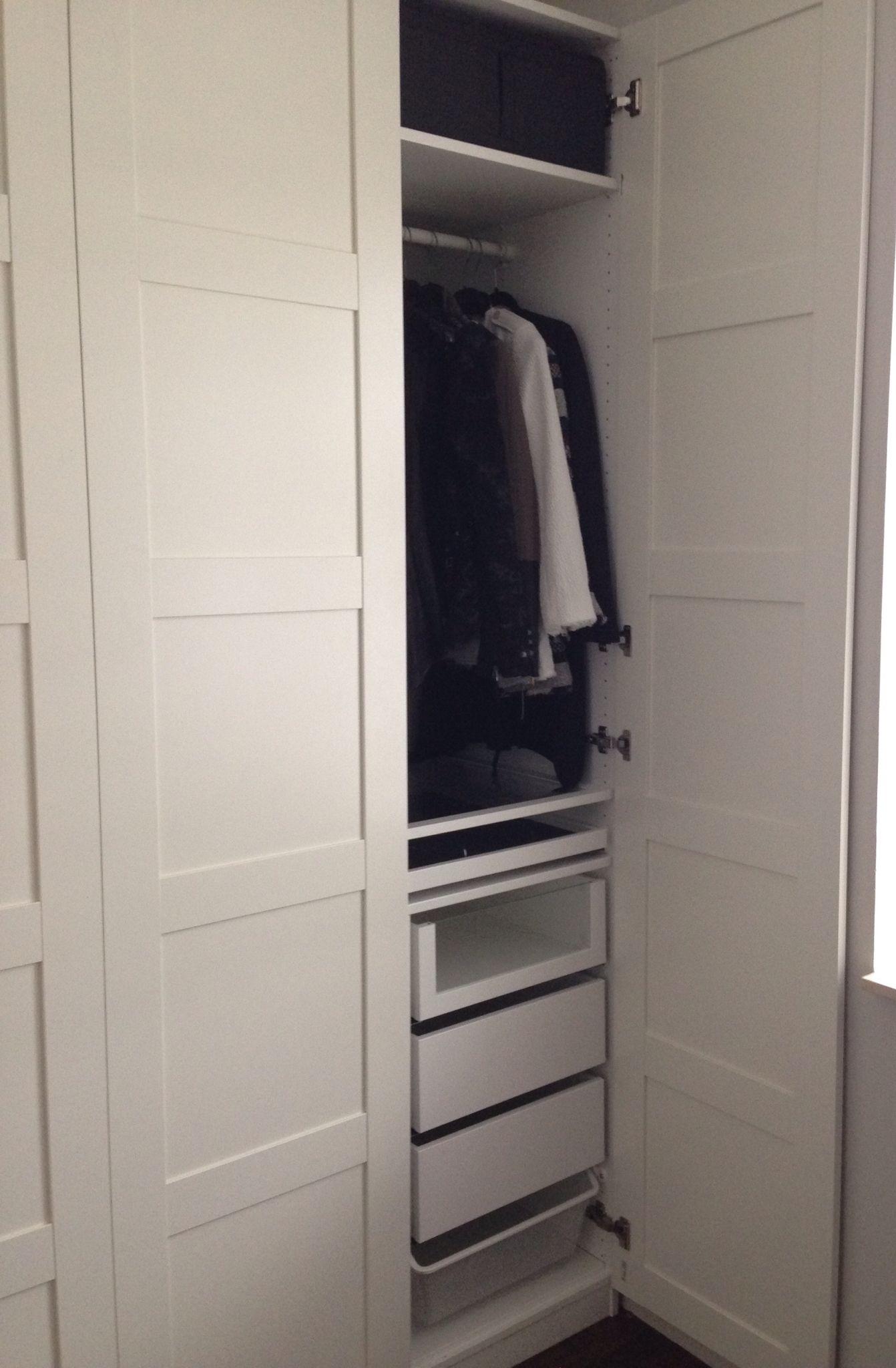 Ikea Garderobekast Pax Bergsbo.Pax Wardrobe Ikea Bergsbo Doors B E D R O O M Slaapkamer