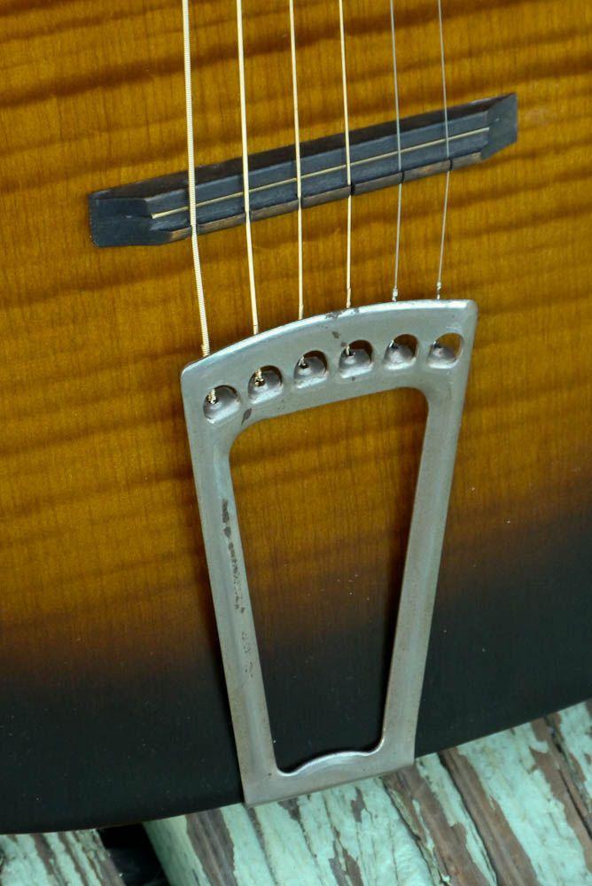 C 1935 Harmony Made Serenader Parlor Guitar