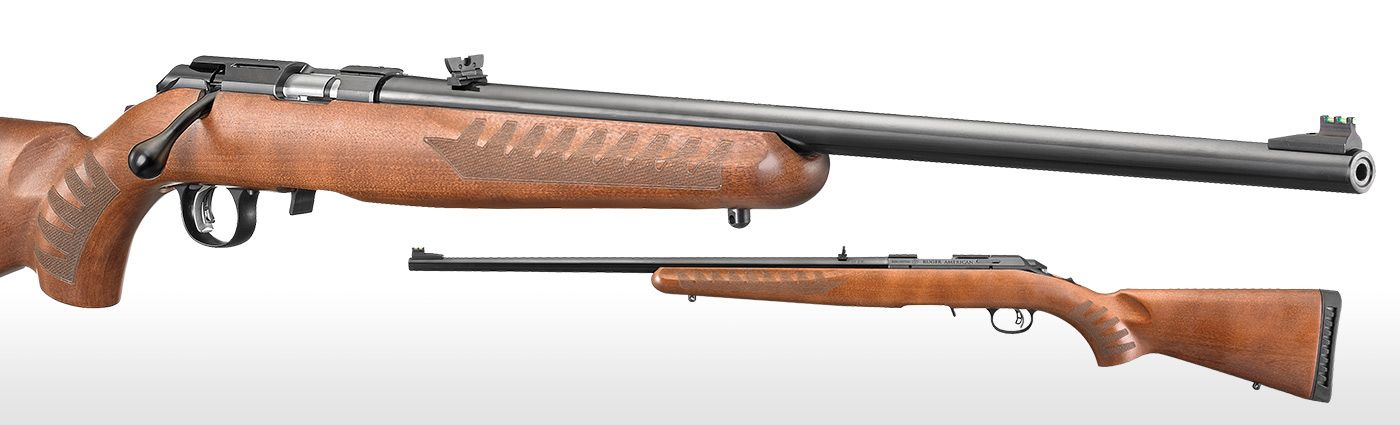 Ruger® Ruger American Rimfire® Wood Stock Bolt-Action ...