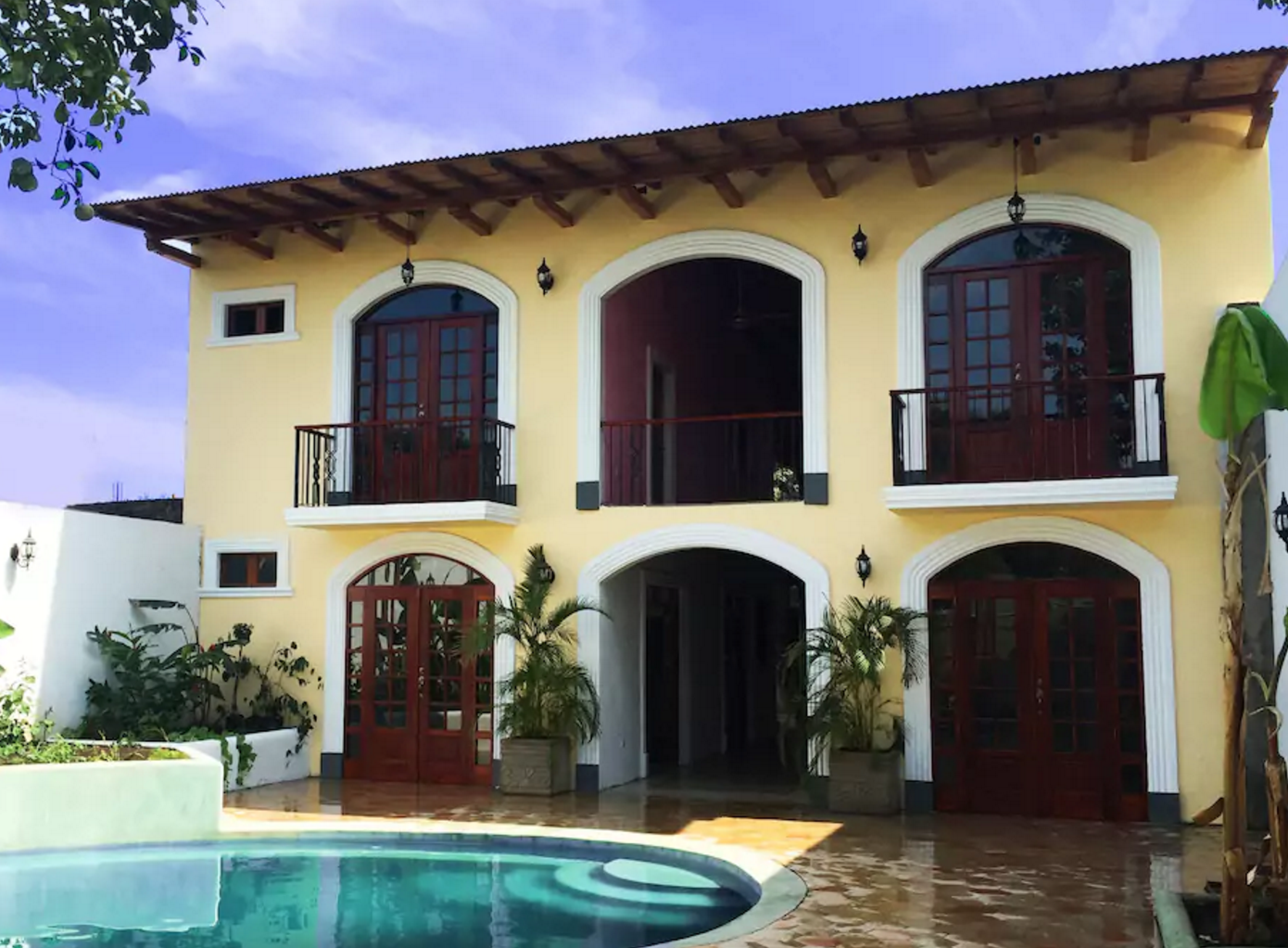 Fachada colonial Granada Nicaragua Fachada colonial, Casas