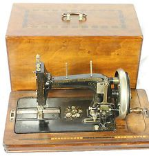 early 1900's Saxonia type Hand Crank Sewing Machine
