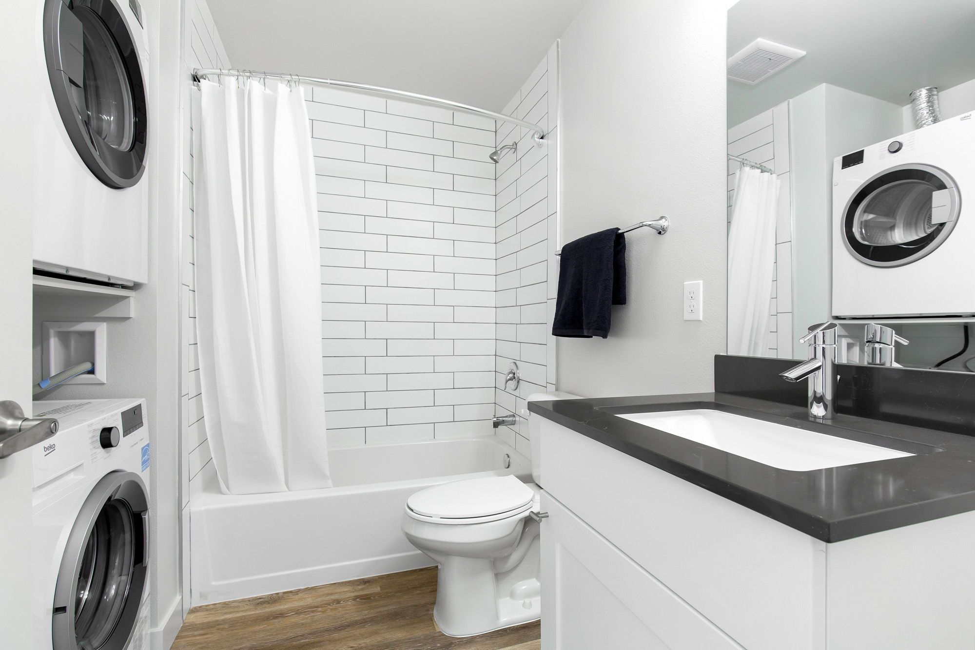 Studio Apartments Available In Greenwood Bode Greenview By Common In 2020 One Bedroom Apartment Studio Apartment Bathroom Design