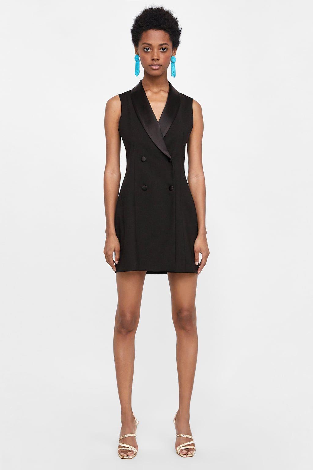 a967282200 Image 1 of TUXEDO DRESS VEST from Zara