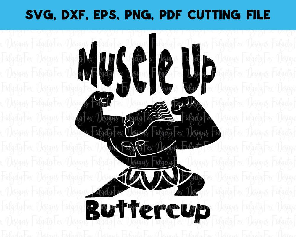Download Muscle Up Maui Moana Svg File Maui svg Muscles svg DXF Eps ...