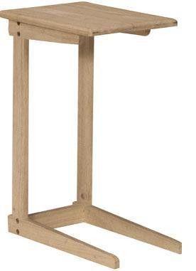 Hardwood Sofa Server Table Unfinished Furniture Diy Furniture
