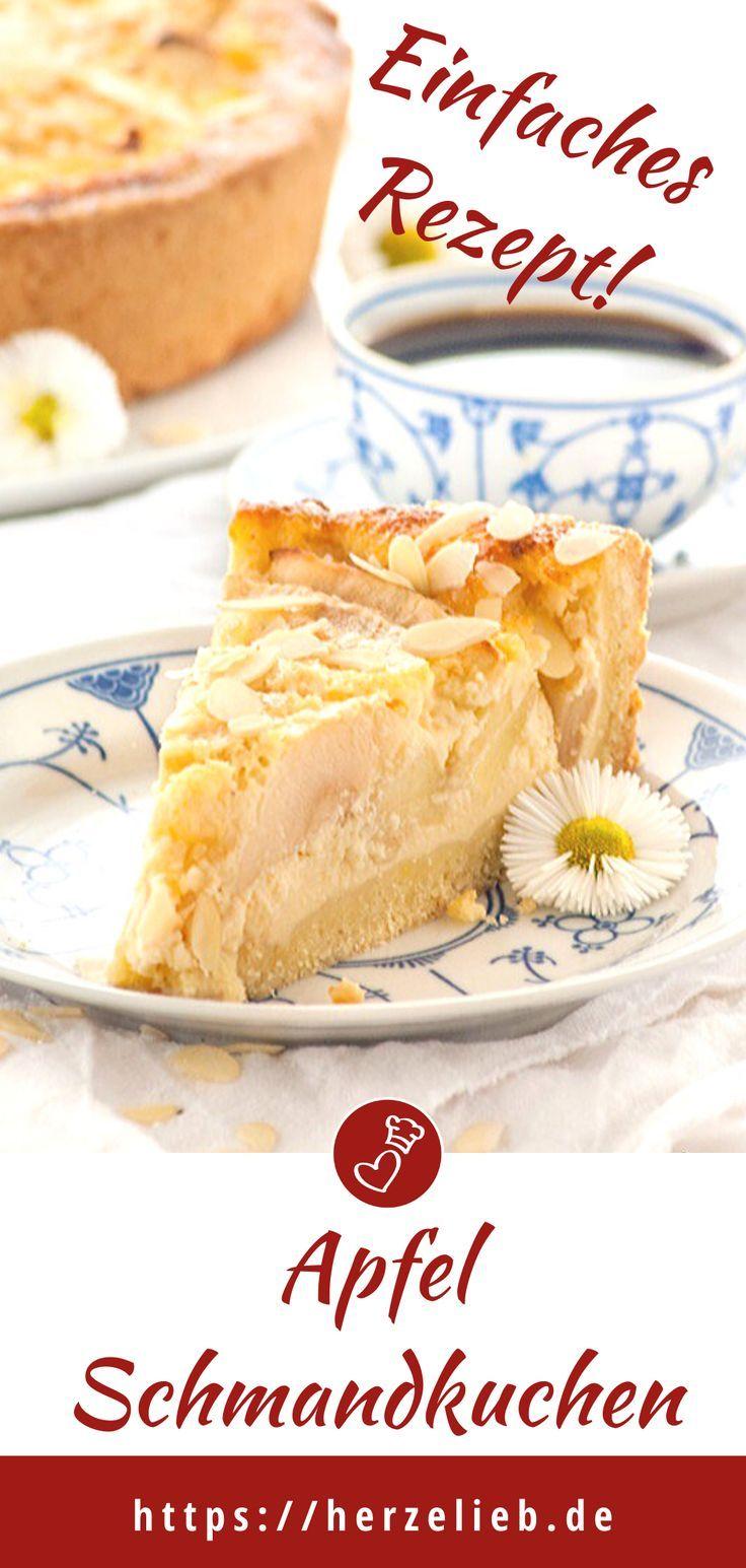 Nordfriesischer Apfel-Schmand-Kuchen - Rezept für einen Kuchentraum!